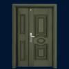 PP4-8809 Euro Board Security Door
