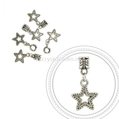 Dangle Charms, D03, Plated, 5pcs:pack