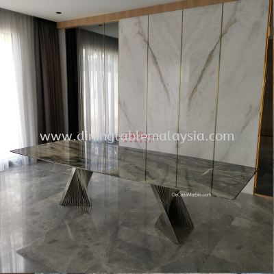 Luxury Italian Marble Dining Table | 10 Seaters