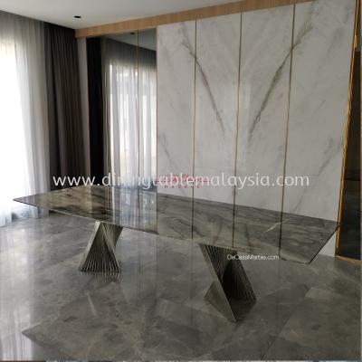 Luxury Italian Marble Dining Table | 10 Seaters