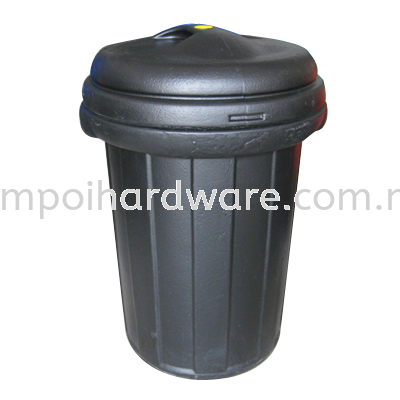 Fibreglass Round Bin 70# Rubbish Pail Hygiene and Cleaning Tools
