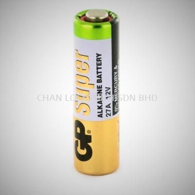 ORIGINAL GP SUPER GP 27A 12V Alkaline Battery for Car Remote Control /Alarm/Doorbell 1 PCS