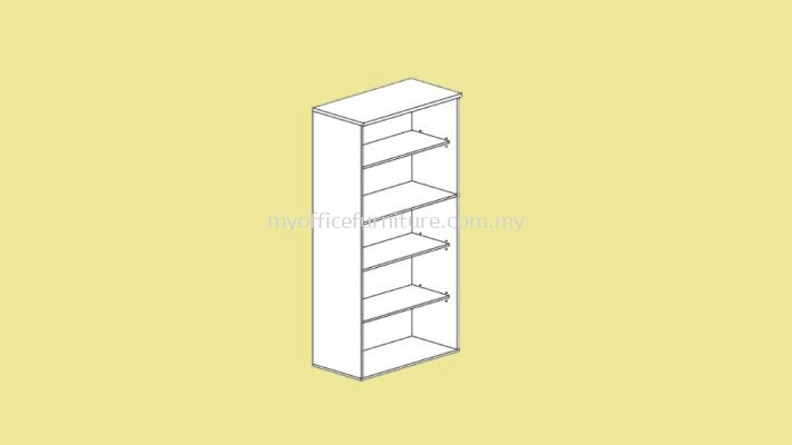 MY-5HOS High Open Shelf Cabinet -5 LAYER (RM 251.00/unit)