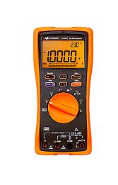 KEYSIGHT U1241C Handheld Digital Multimeter, 4 Digit, IP67