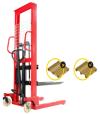 1.5 tons GEOLIFT Economic Manual Hydraulic Stacker - MSE1516  Economic Manual Hydraulic Stacker Stacker MATERIAL HANDLING