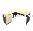 5FT WOODEN BASE RECTANGULAR TABLE WITH FIXED PEDESTAL 2D1F Office Table