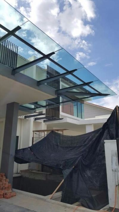 Sample Glass Canopy Completed in Area Selangor