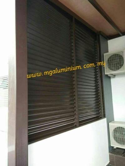 Sample Of Aluminium Louver in Johor Skudai