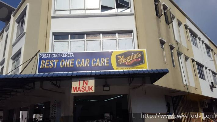BEST ONE CAR CARE Polycarbonate Signage