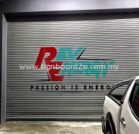 REV ENERGY SDN BHD PAINT ON DOOR ROLLER SHUTTER AT SHAH ALAM SELANGOR MALAYSIA