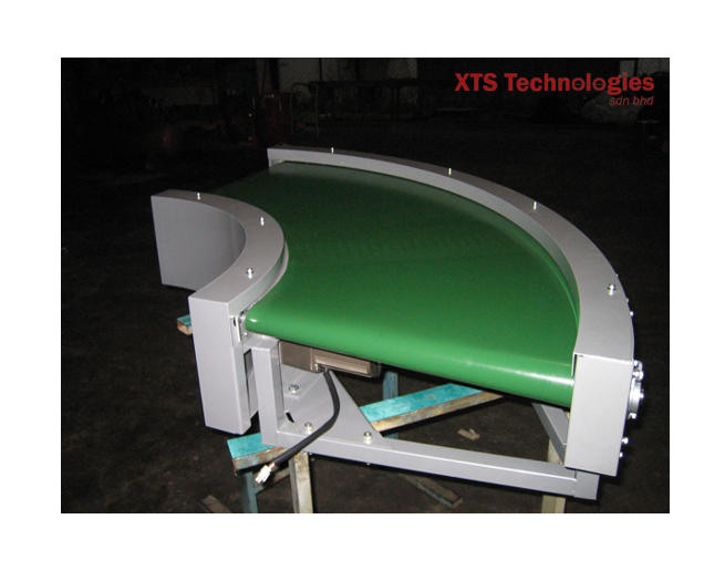 Curve conveyors manufactured by XTS Technologies