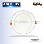 ABLELUX ROUND 12W LED RECESSED DOWNLIGHT 0.9 POWER FACTOR 1080 LUMEN DC 42V