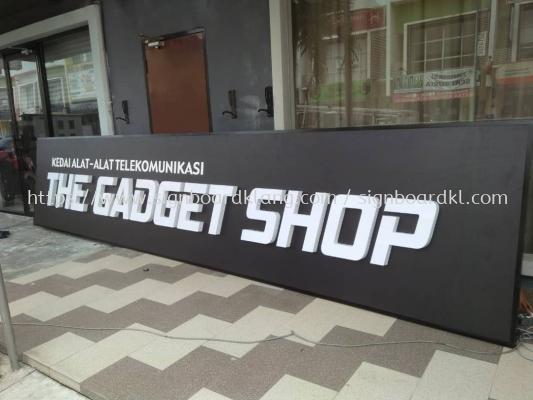 The Gadget Shop 3D Led Frontlit Lettering Signage Signboard At Klang Kuala Lumpur