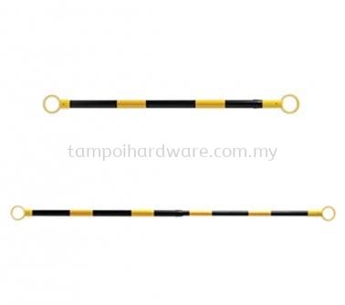 Black & Yellow Retractable Cone Bar