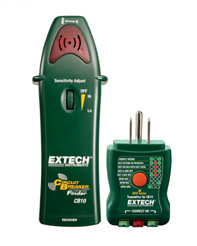 EXTECH CB10 : AC Circuit Breaker Finder/Receptacle Tester