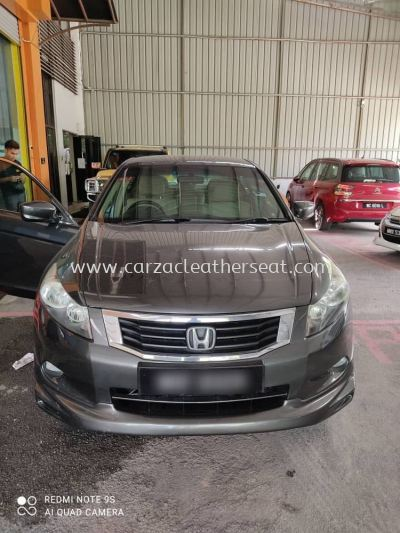 HONDA ACCORD SEAT REPLACE SYNTHETIC LEATHER
