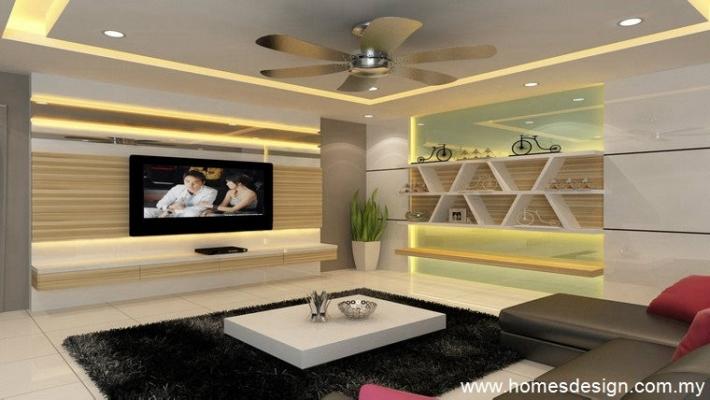 3D Living Hall Renovation Design Refer Suitable Malaysia 2021