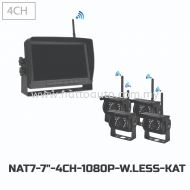 7-DVR 4CH 1080P WIRELESS SYSTEM