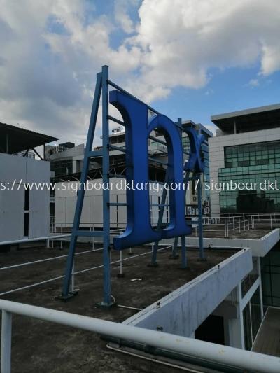 Nexgram EG Big 3D Conceal Frontlit Lettering Signage Signboard At Klang Kuala Lumpur