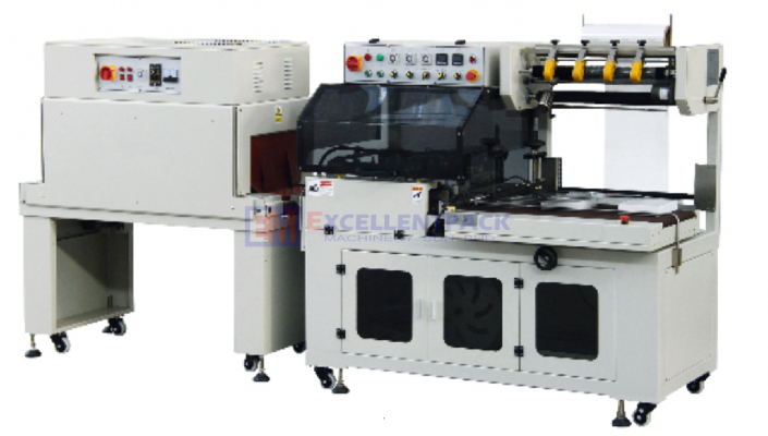 L-TYPE SEALING MACHINE WITH SHRINK TUNNEL