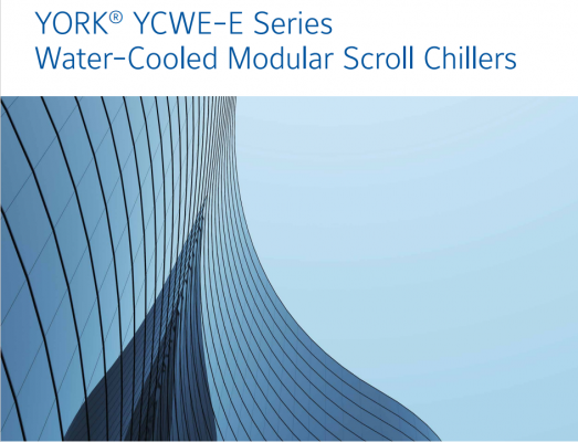 Mini Chiller YCWE-E Series Water-Cooled Modular Scroll Chillers