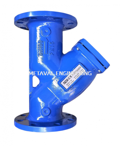 NOREX Ductile Iron Y-Strainer - Flanged End