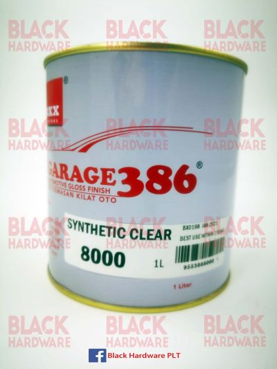 Fox Garage 389 Adhesion Stain UV Resistant Solvent Automotive Wood Slat  Car Gloss Synthetic Clear Paint Coat Primer