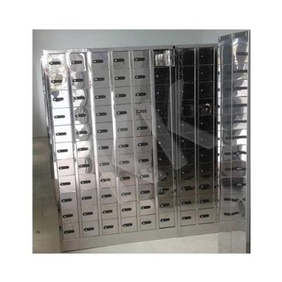 Stainless Steel Passport Locker Handphone Locker