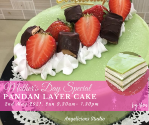 Mother's Day Special - Pandan Layer Cake