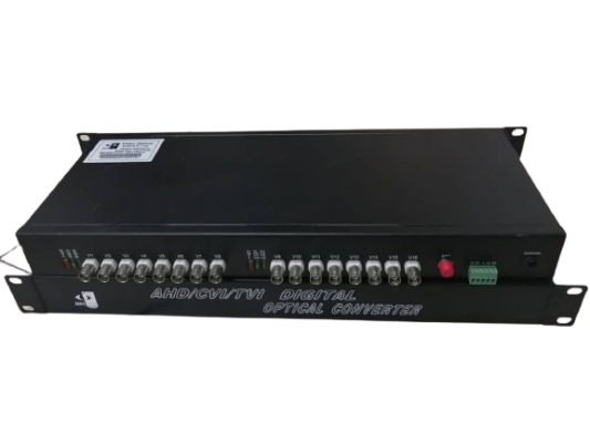 SONICVIEW - 16CHANNEL WITH 1 DATA FIBER VIDEO CONVERTER SUPPORT 3MP