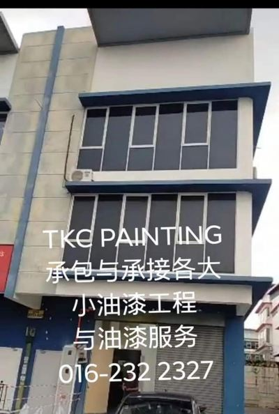 Project:FOOD- LAB  at#TAMAN PERINDUSTRIAN PUTRA PERMAI# SERI KEMBANGAN 油漆工程进行著。 The painting project is under way. #要油漆,找我们TKC PAINTING. 拥有21年的业油漆服务。 #承包与承接各大小油漆工程与油漆服务To painted, look to our  TKC PAINTING.  For 21 years of professional painting services. Contract and undertake all sizes of painting works and# painting service whatsapp:016-232 2627