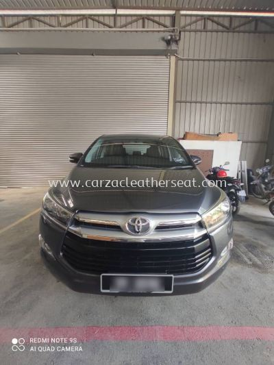 TOYOTA INNOVA STEERING WHEEL REPLACE SYNTHETIC LEATHER