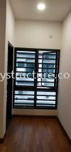 To Fabrication Mild Steel Powder Coated Window Grille @ Jalan Canggung 4/KU5, Persada Bandar Bukit Raja, 41050 Klang. Window Grill