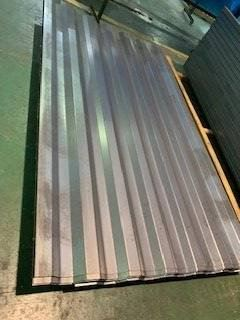 Cargo container corrugated wall sheet