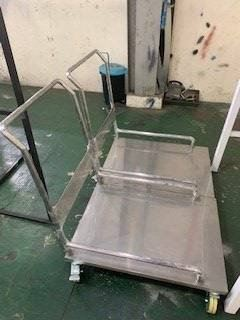 Stainless Steel Trolley for Medical Plant