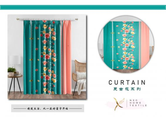 ��006��2in1 CURTAIN (PIN & RING)
