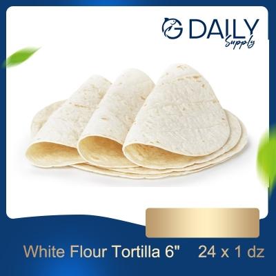 """White Flour Tortilla 6"""""""