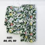 Cotton Silk Kids Pyjamas Set