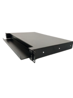 SC.ST 24PORT SIMPLEX FIBER PANEL FOR SLIDING OUT RACK MOUNT