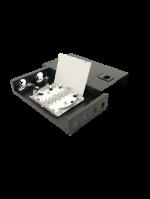 4PORT LC DUPLEX LIU BOX