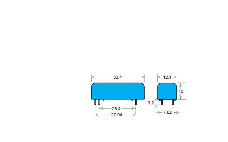 STANDEX BT12-2A85-M BT/BTS Series Reed Relay