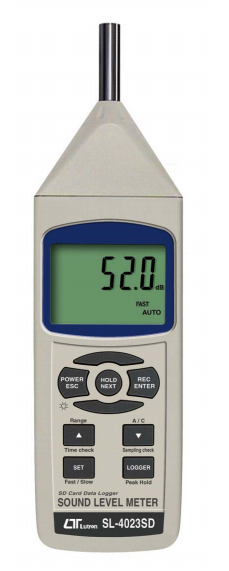 LUTRON SL-4023SD Sound Level Meter + SD Card real time data decorder