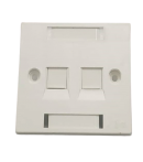 A - DOUBLE PORT FACE PLATE