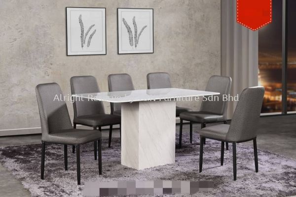 TNANX MDMDT1205 4��6'' X 2��6'' Marble Table + CHR523 (6 Units)