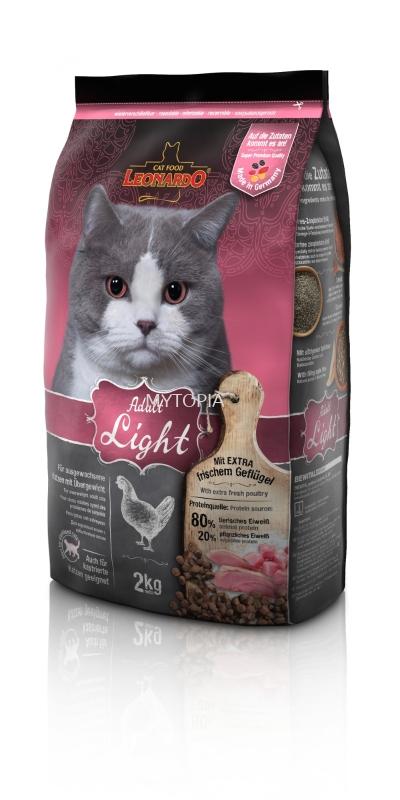 LEONARDO CAT LIGHT *STERILISED 2KG -CHICKEN