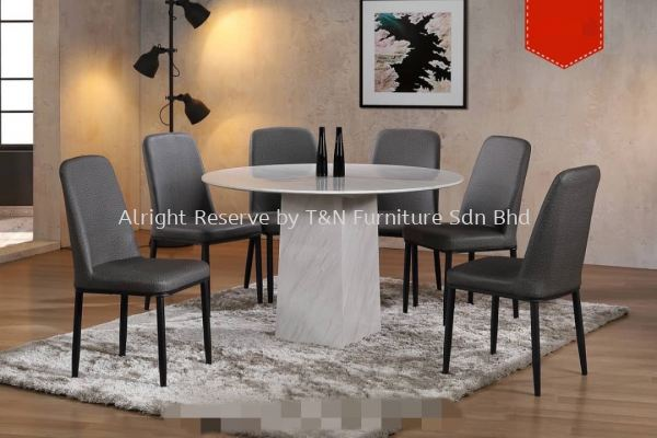 TNANX MDMDT1203R 4�� Marble Table + CHR523 (6 Units)