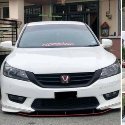 Honda accord 2014 to 2019 bodykit front middle diffuser