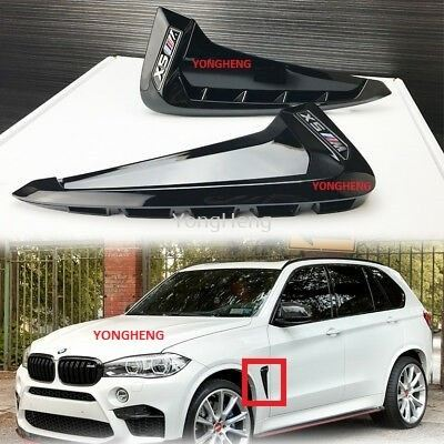 BMW F15 X5 Carbon Fiber Side Fender Vent
