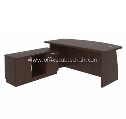 QAMAR EXECUTVE DIRECTOR OFFICE TABLE WITH SIDE CABINET AQX1800