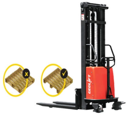 GEOLIFT High Performance Semi Electric Stacker - SPS1525